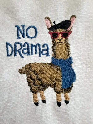 Llama Embroideries - click to see more