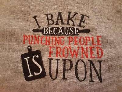 Baking Embroideries - click to see more