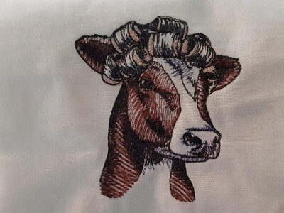 Cow Embroideries - click to see more