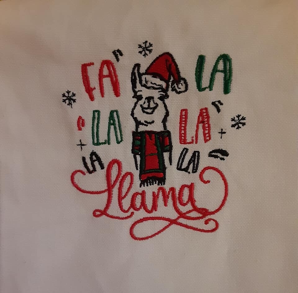 Christmas Humour Embroideries - click to see more