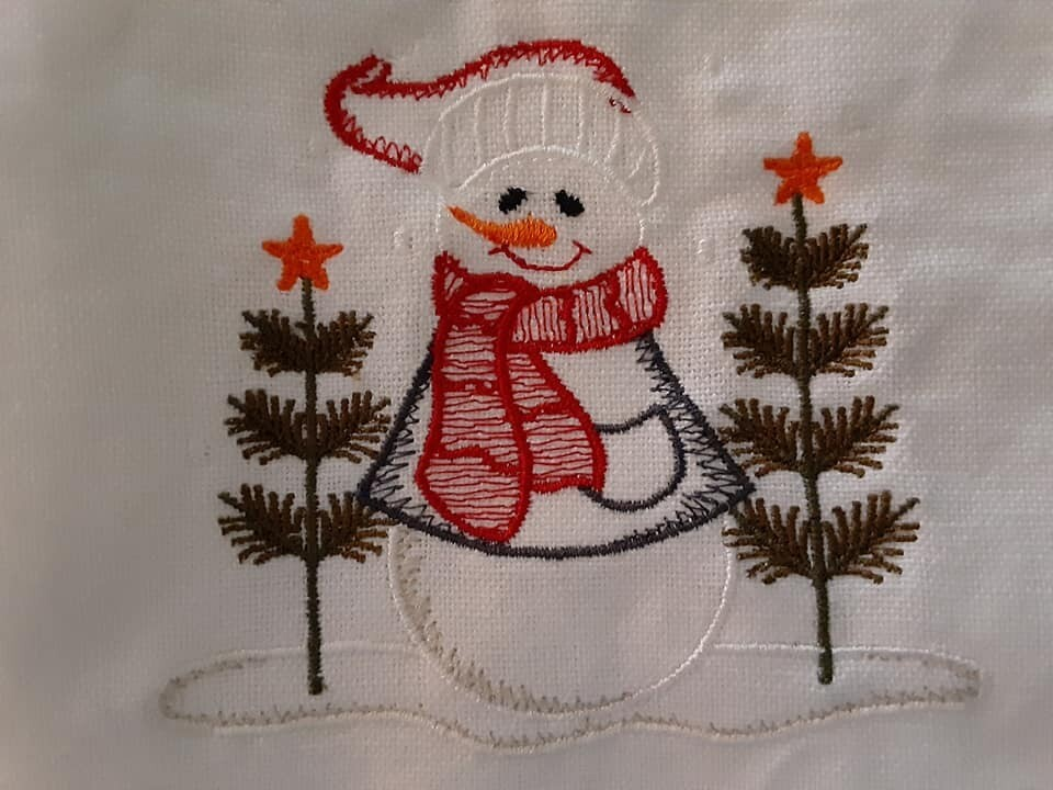 Snowmen Embroideries - click to see more