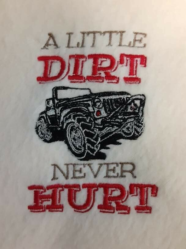 Vehicle Embroideries - click to see more