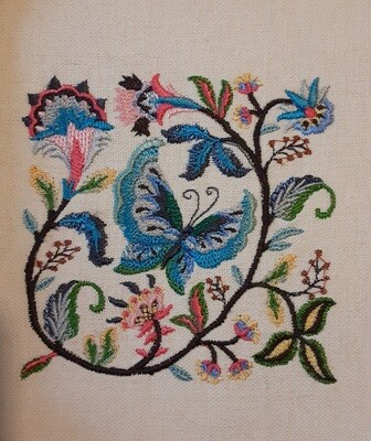 Butterflies and Dragonflies Embroideries - click to see more