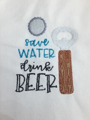 Beverage Embroideries - click to see more