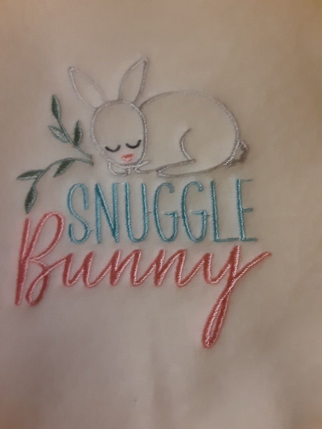 Bunny (not Easter) Embroideries - click to see more
