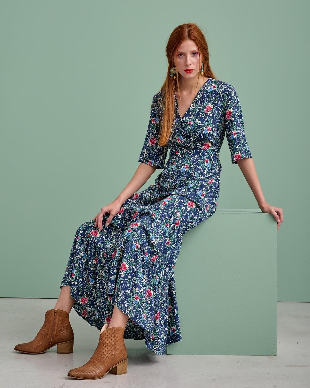 Κρουαζέ Maxi Φόρεμα