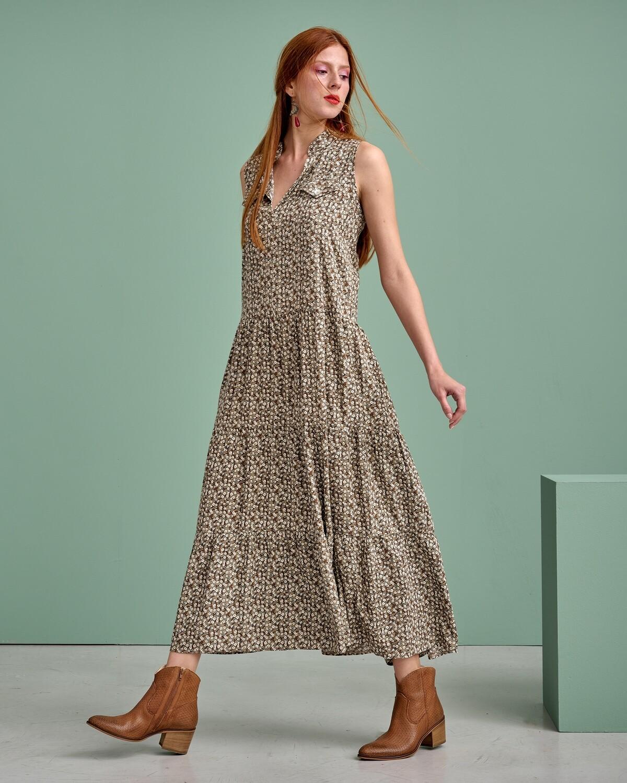 Floral Maxi Φόρεμα