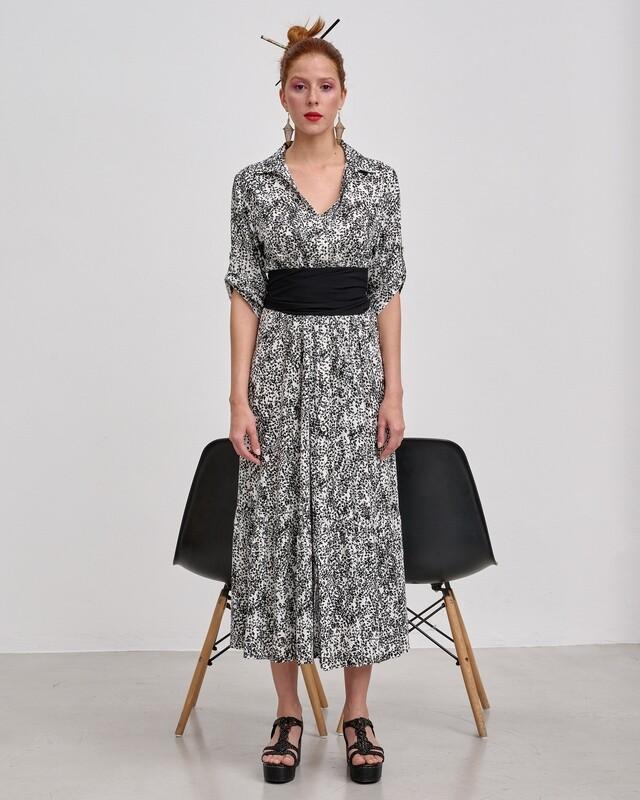 Λαχούρι Maxi Φόρεμα