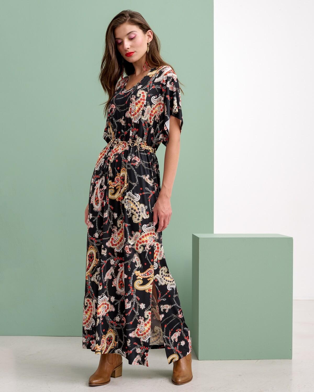 Φόρεμα Εμπριμέ Λαχούρι