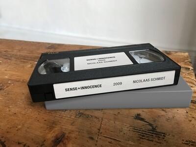 VHS EDITION I: SENSE+INNOCENCE (Edition of 30)