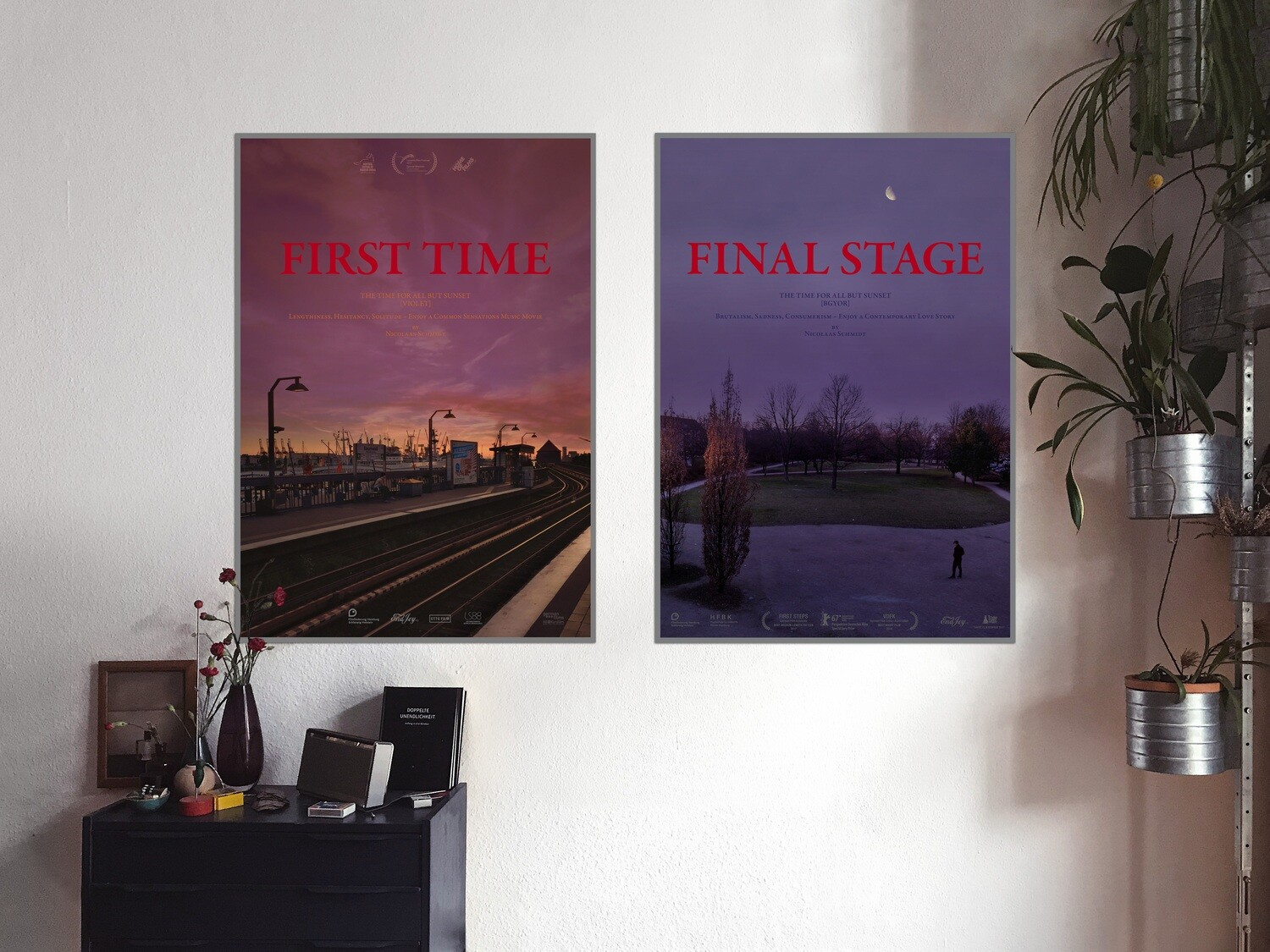 THE TIME FOR ALL BUT SUNSET Poster & Post Cards
