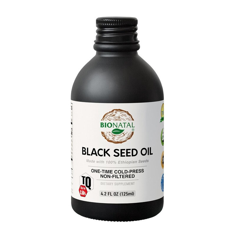 BLACK SEED OIL 4 OZ (GLASS)