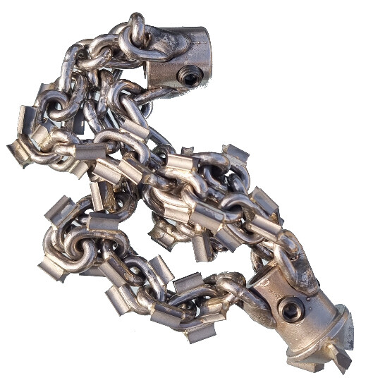 X-Tip Sewer Cleaning Chain (with drill head)