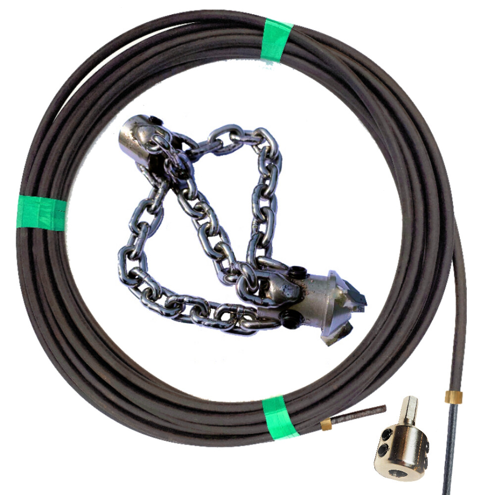 """150mm (6"""") to 200mm (8"""") PVC Pipes - Blockage removal Kit"""