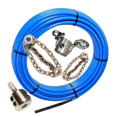 """32mm (1,26"""") to 50mm (2"""") PVC Pipes - Blockage Removal Kit"""