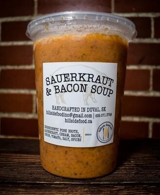 Sauerkraut and Bacon Soup