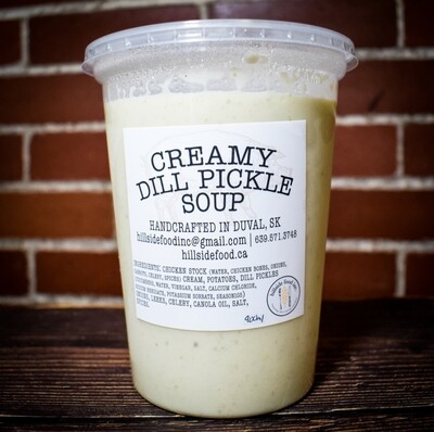 Creamy Dill Pickle Soup