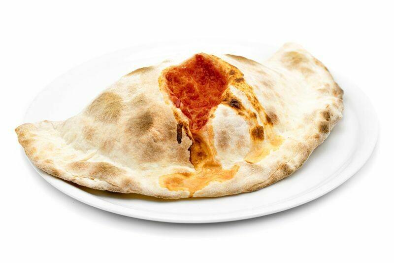 Pizza Calzone Alla Ricotta e Prosciotto