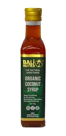 Organic Coconut Syrup 370g