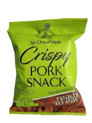 Crispy Pork Snack-100% Pork Loin ,85% Protein , No Sugar - 6 bags x 25g