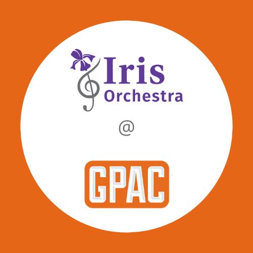 Iris Orchestra at GPAC Saturday Series Subscription