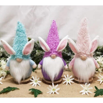Easter Bunny Gnome