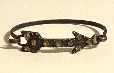 Antiqued Arrow Bracelet