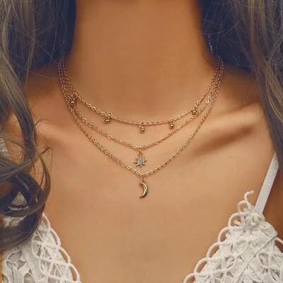 Galaxy Layered Necklace