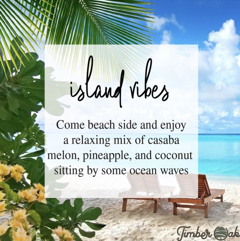 Island Vibes Soy Candles & Melts
