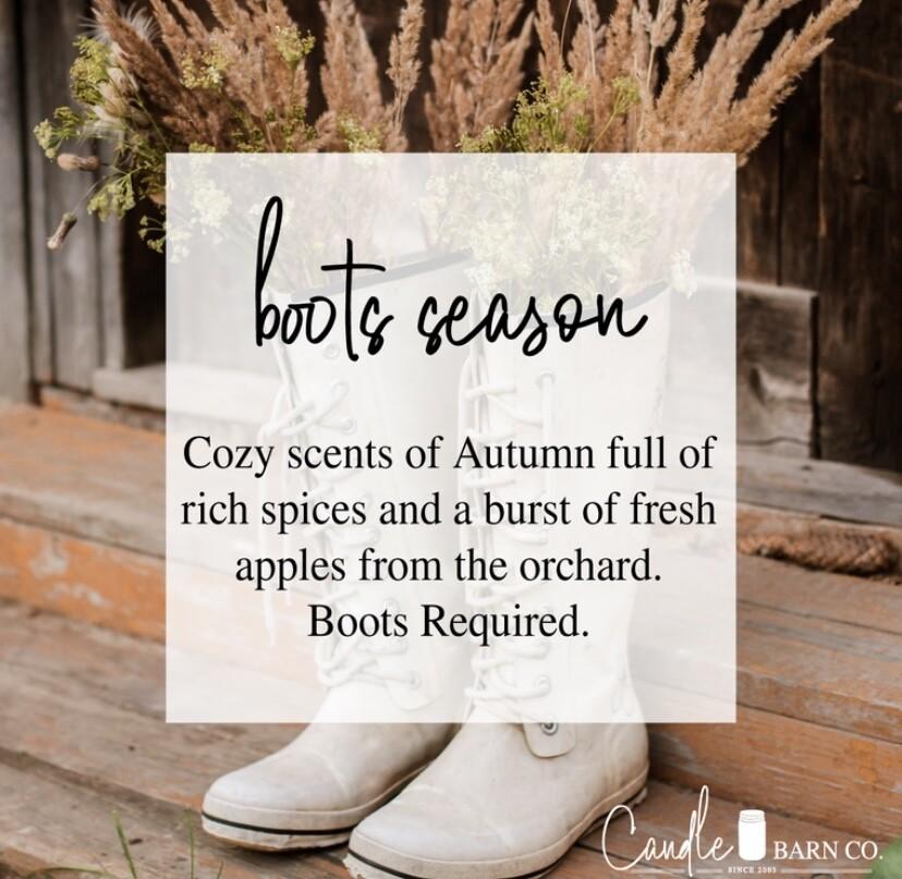 Boots Season Soy Candles & Melts