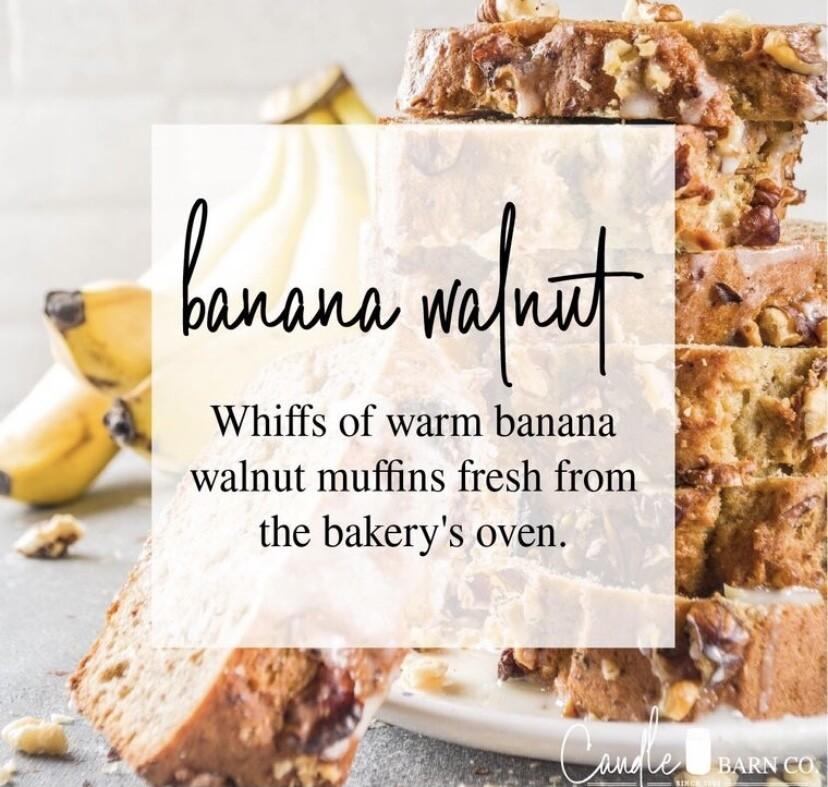 Banana Walnut Soy Candles & Melts
