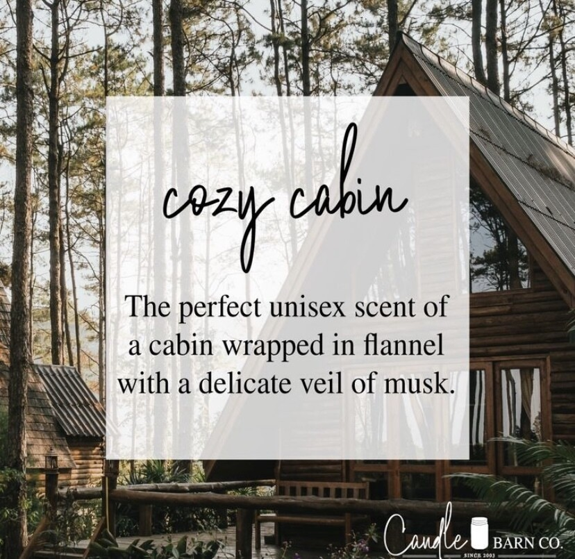 Cozy Cabin Soy Candles & Melts