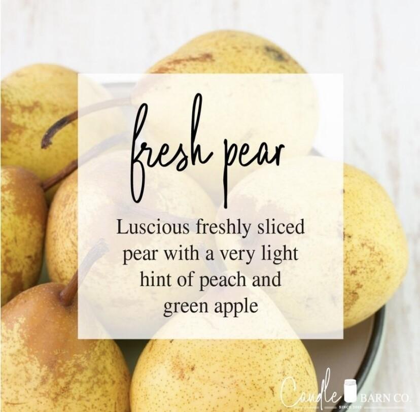 Fresh Pear Soy Candles & Melts