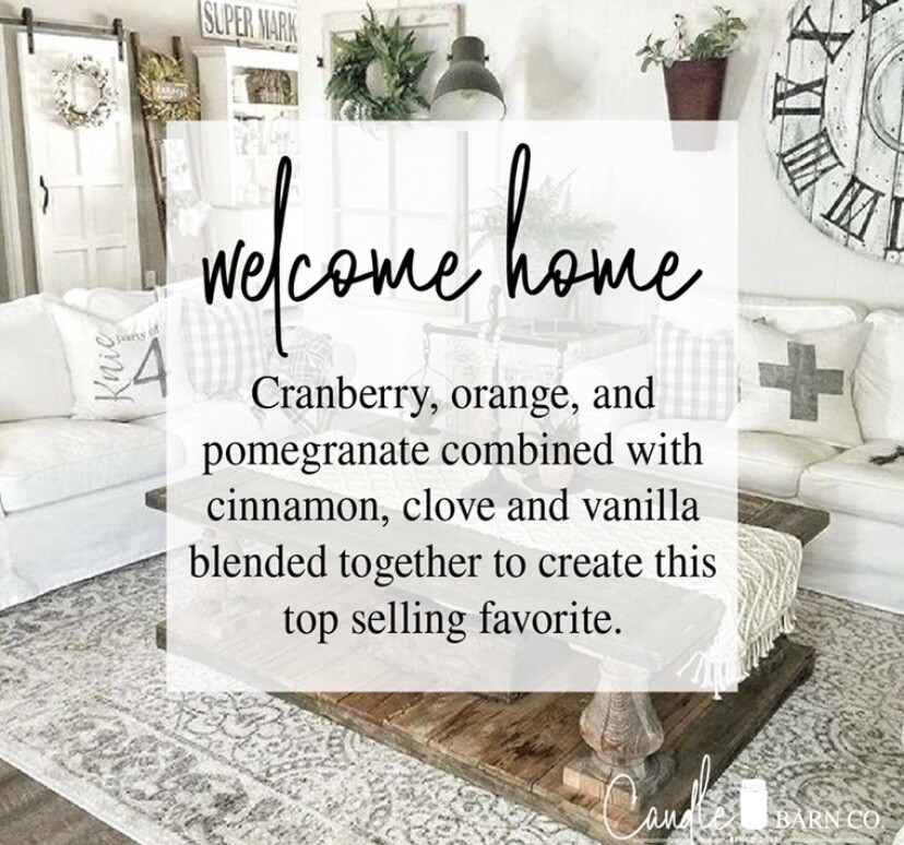 Welcome Home Soy Candles & Melts