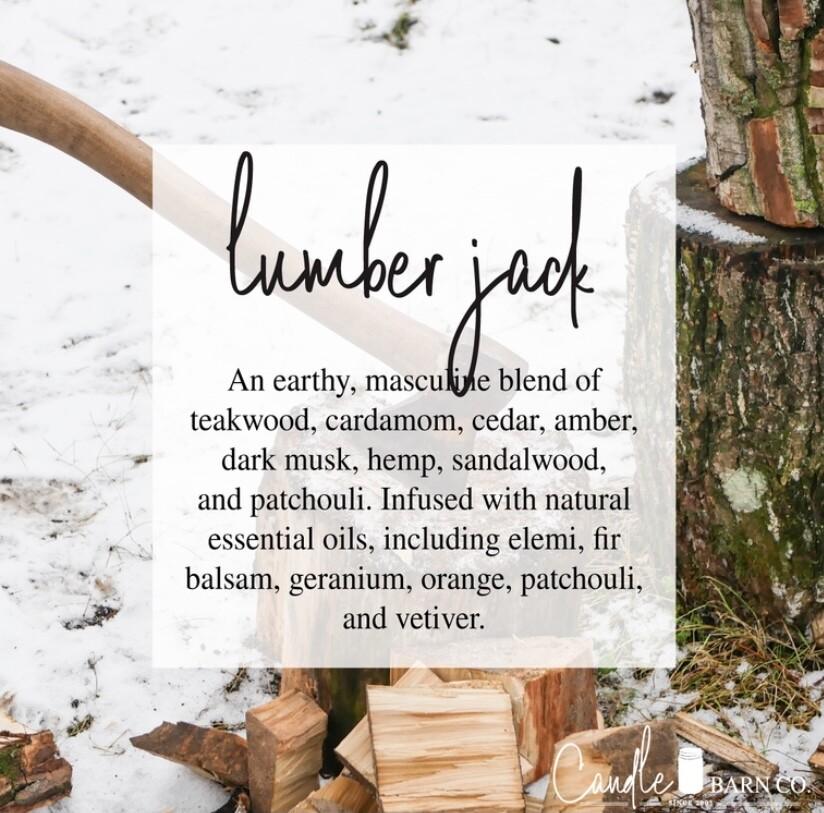 Lumberjack Soy Candles & Melts