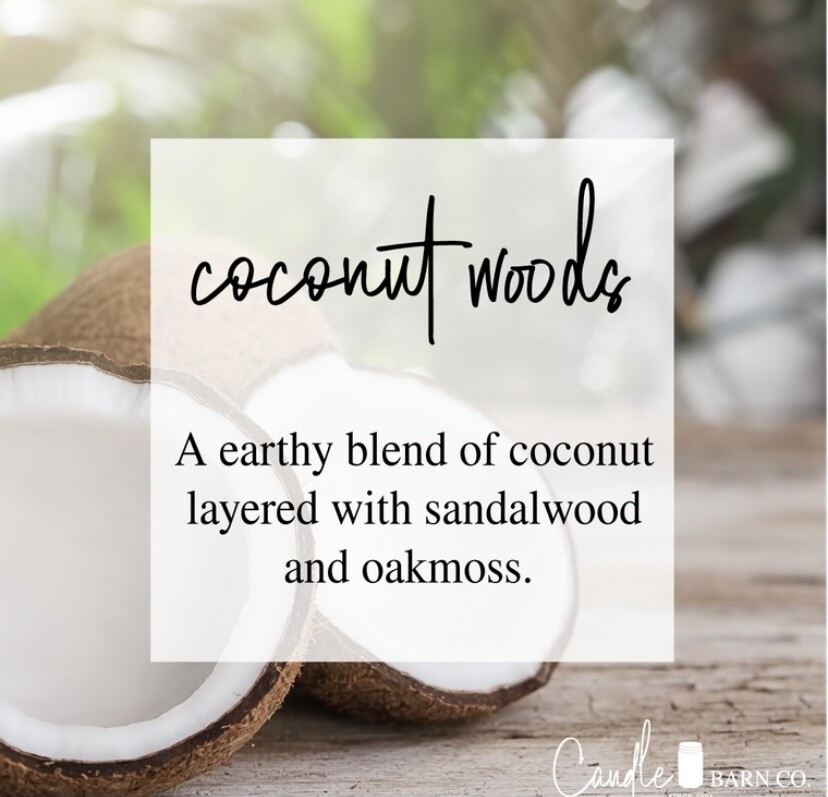 Coconut Woods Soy Candles & Melts
