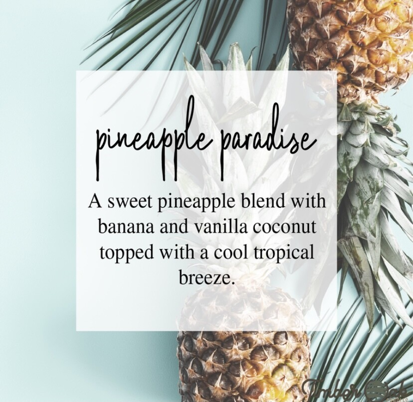 Pineapple Paradise Soy Candles & Melts