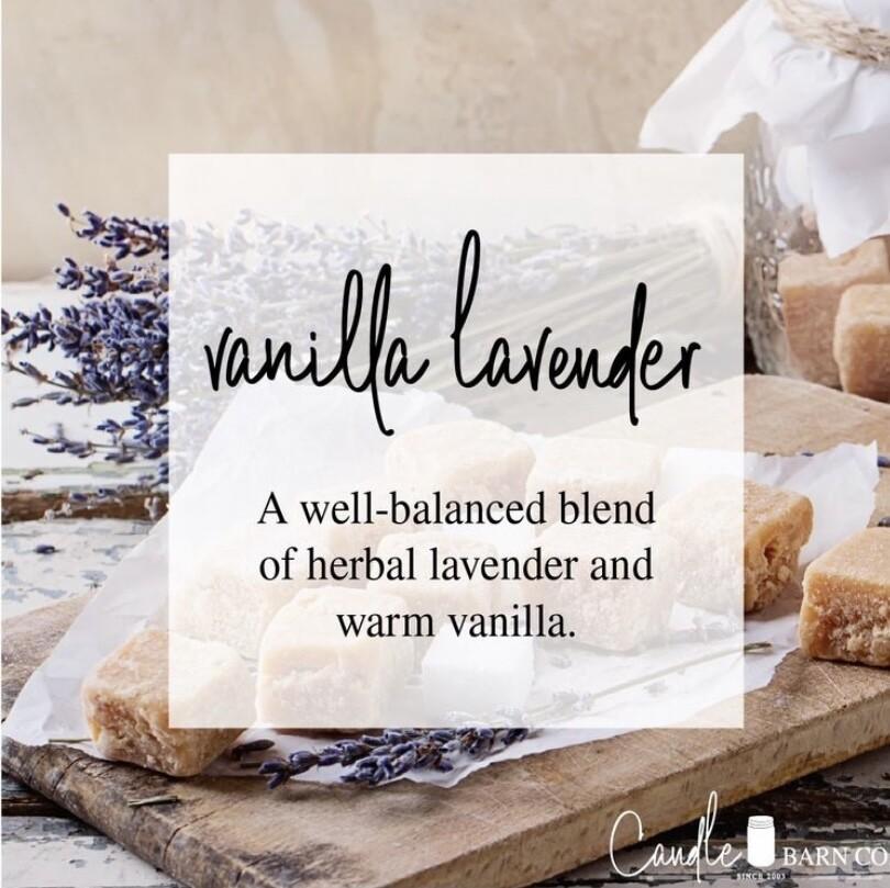 Vanilla Lavender Soy Candles & Melts
