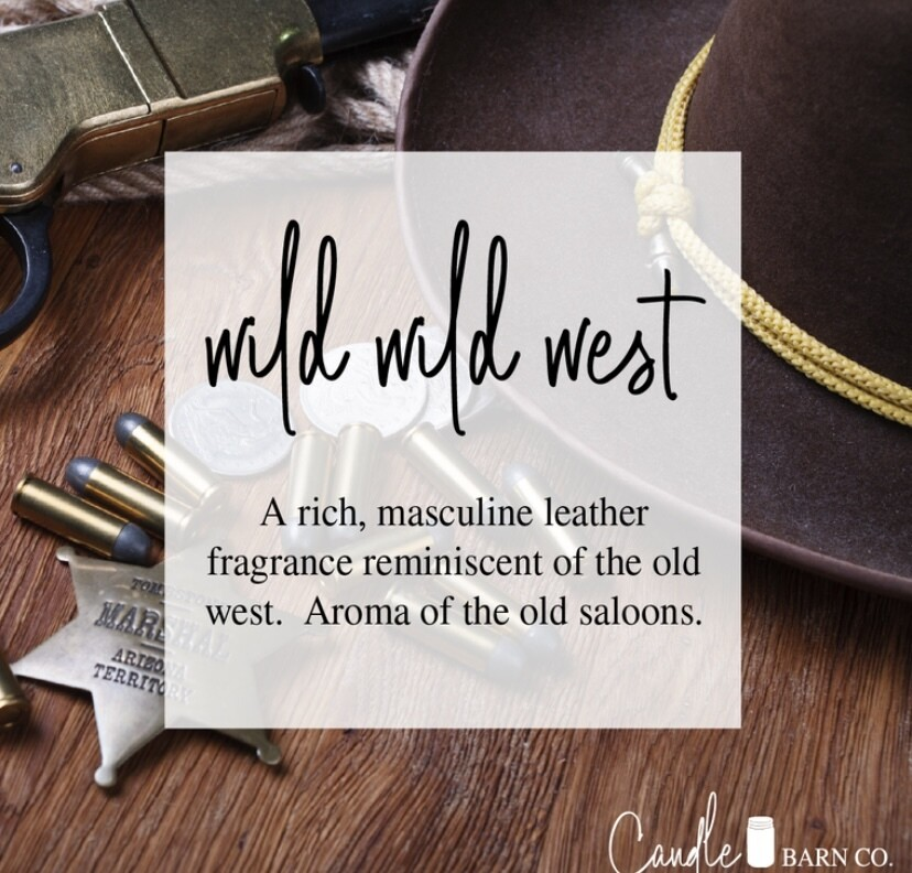 Wild Wild West Soy Candles & Melts