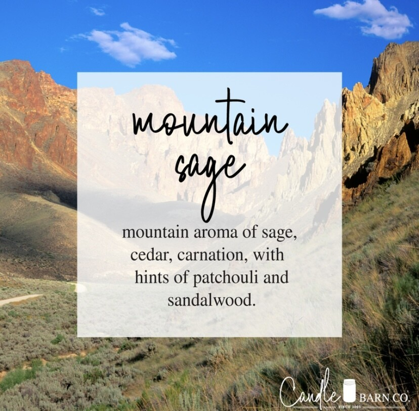 Mountain Sage Soy Candles & Melts