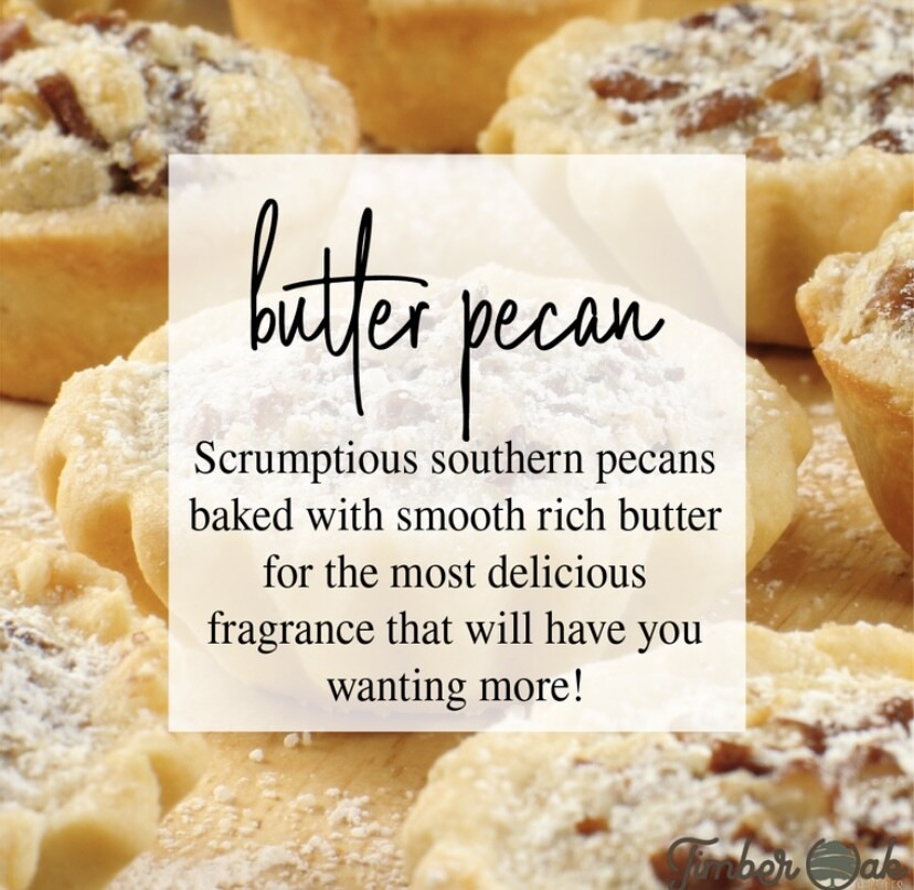 Butter Pecan Soy Candles & Melts