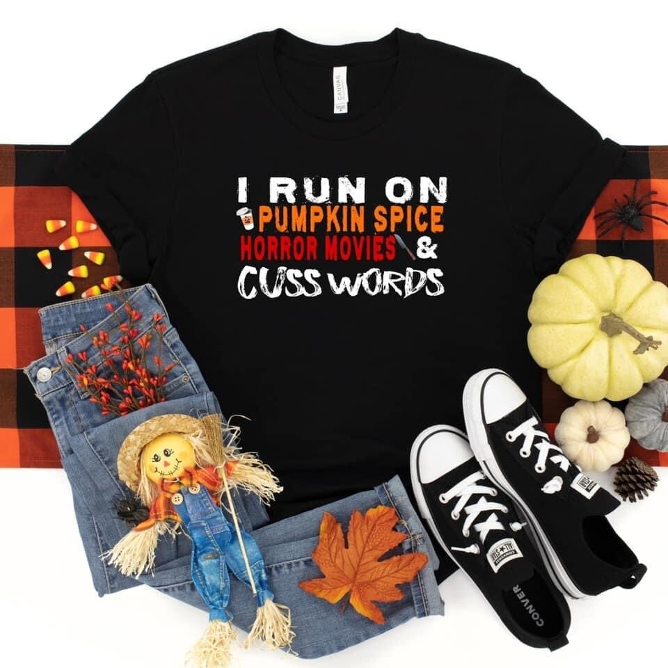 I Run On Pumpkin Spice Tee