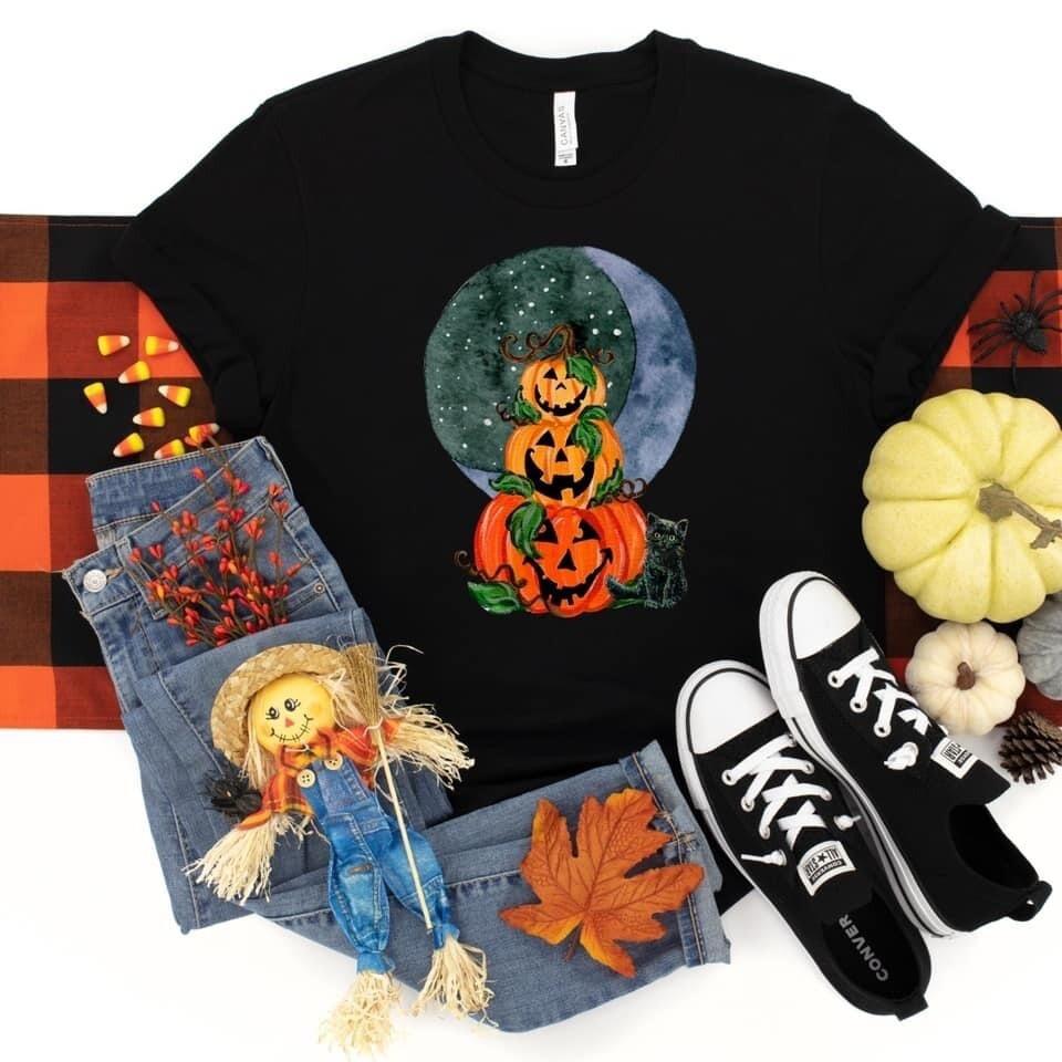 Pumpkin Moon Tee