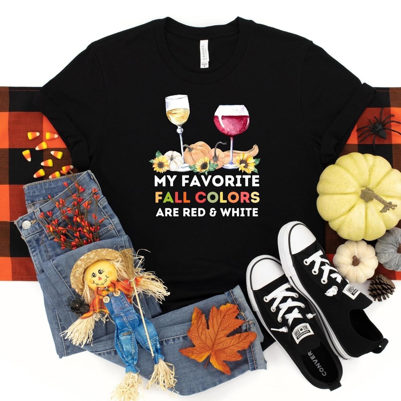 Favorite Fall Colors Tee