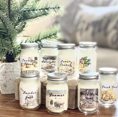 Mini Mason Jar Candles 1.5oz