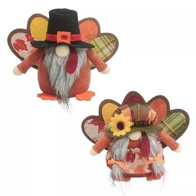 Short Turkey Gnomes