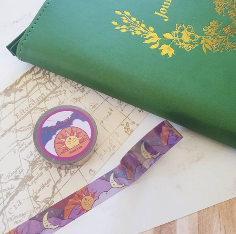 Tarot Sun and Moon Cleartape