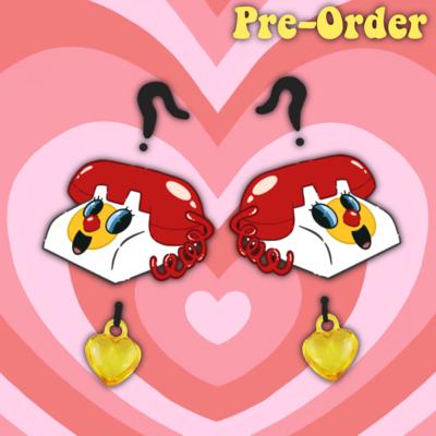 Phone earrings -PRE ORDER