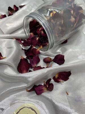 Getrocknete Rosenblätter (Wildrose)
