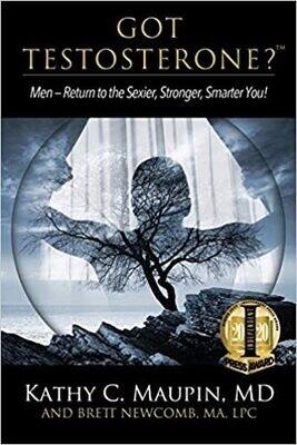 Got Testosterone? Paperback Book (Case of 24 Books)